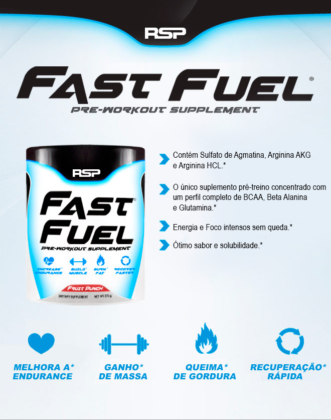 Fast Fuel 146g RSP Nutrition